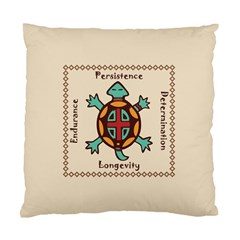 Turtle Animal Spirit Standard Cushion Case (two Sides) by linceazul