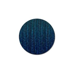 Stylish Abstract Blue Strips Golf Ball Marker by gatterwe