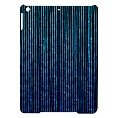 Stylish Abstract Blue Strips Ipad Air Hardshell Cases by gatterwe