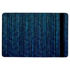 Stylish Abstract Blue Strips Ipad Air Flip by gatterwe