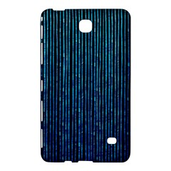 Stylish Abstract Blue Strips Samsung Galaxy Tab 4 (7 ) Hardshell Case  by gatterwe