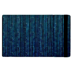 Stylish Abstract Blue Strips Apple Ipad Pro 12 9   Flip Case by gatterwe