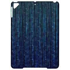 Stylish Abstract Blue Strips Apple Ipad Pro 9 7   Hardshell Case by gatterwe