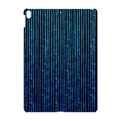 Stylish Abstract Blue Strips Apple Ipad Pro 10 5   Hardshell Case by gatterwe