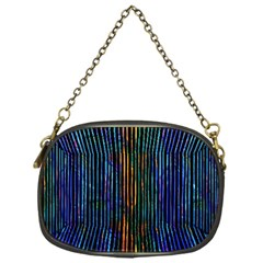 Stylish Colorful Strips Chain Purses (one Side)  by gatterwe