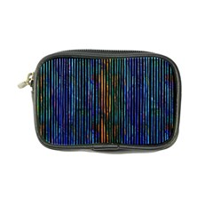 Stylish Colorful Strips Coin Purse by gatterwe