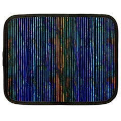 Stylish Colorful Strips Netbook Case (xxl)  by gatterwe