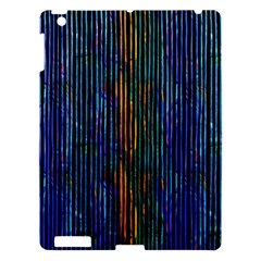 Stylish Colorful Strips Apple Ipad 3/4 Hardshell Case by gatterwe