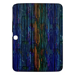 Stylish Colorful Strips Samsung Galaxy Tab 3 (10 1 ) P5200 Hardshell Case  by gatterwe
