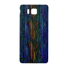 Stylish Colorful Strips Samsung Galaxy Alpha Hardshell Back Case by gatterwe