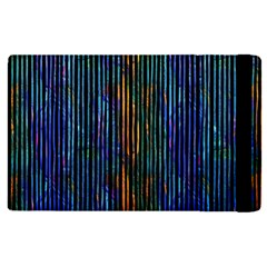 Stylish Colorful Strips Apple Ipad Pro 12 9   Flip Case by gatterwe