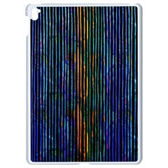 Stylish Colorful Strips Apple Ipad Pro 9 7   White Seamless Case by gatterwe