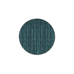 Stylish Frost Blue Strips Golf Ball Marker (10 Pack) by gatterwe