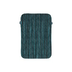 Stylish Frost Blue Strips Apple Ipad Mini Protective Soft Cases by gatterwe