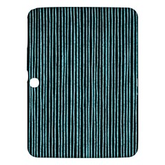 Stylish Frost Blue Strips Samsung Galaxy Tab 3 (10 1 ) P5200 Hardshell Case  by gatterwe