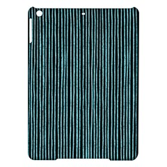 Stylish Frost Blue Strips Ipad Air Hardshell Cases by gatterwe