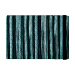 Stylish Frost Blue Strips Ipad Mini 2 Flip Cases by gatterwe