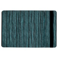 Stylish Frost Blue Strips Ipad Air 2 Flip by gatterwe