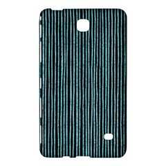 Stylish Frost Blue Strips Samsung Galaxy Tab 4 (7 ) Hardshell Case  by gatterwe