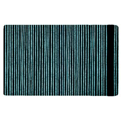 Stylish Frost Blue Strips Apple Ipad Pro 12 9   Flip Case by gatterwe