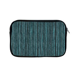Stylish Frost Blue Strips Apple Macbook Pro 13  Zipper Case by gatterwe