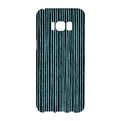 Stylish Frost Blue Strips Samsung Galaxy S8 Hardshell Case  by gatterwe