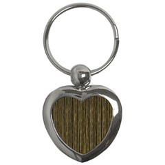 Stylish Golden Strips Key Chains (heart)  by gatterwe