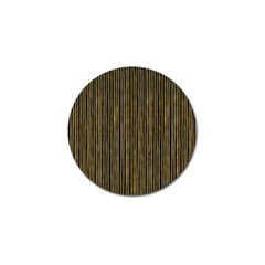 Stylish Golden Strips Golf Ball Marker (10 Pack) by gatterwe