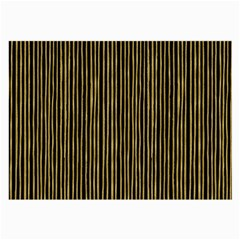 Stylish Golden Strips Large Glasses Cloth by gatterwe