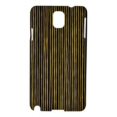Stylish Golden Strips Samsung Galaxy Note 3 N9005 Hardshell Case by gatterwe