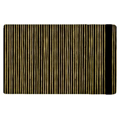 Stylish Golden Strips Apple Ipad Pro 12 9   Flip Case by gatterwe