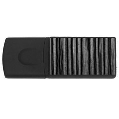 Stylish Silver Strips Rectangular Usb Flash Drive by gatterwe