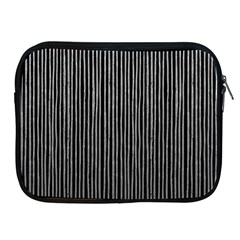 Stylish Silver Strips Apple Ipad 2/3/4 Zipper Cases by gatterwe