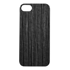 Stylish Silver Strips Apple Iphone 5s/ Se Hardshell Case by gatterwe