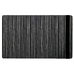 Stylish Silver Strips Apple Ipad Pro 12 9   Flip Case by gatterwe