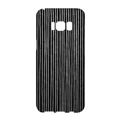 Stylish Silver Strips Samsung Galaxy S8 Hardshell Case  by gatterwe