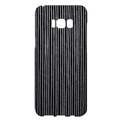 Stylish Silver Strips Samsung Galaxy S8 Plus Hardshell Case  by gatterwe