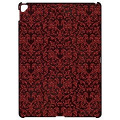 Red Glitter Look Floral Apple Ipad Pro 12 9   Hardshell Case by gatterwe