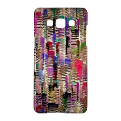 Colorful Shaky Paint Strokes                        Samsung Galaxy A5 Hardshell Case by LalyLauraFLM
