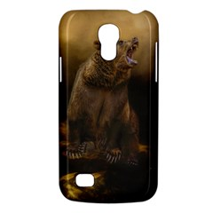 Roaring Grizzly Bear Galaxy S4 Mini by gatterwe