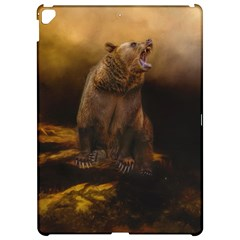 Roaring Grizzly Bear Apple Ipad Pro 12 9   Hardshell Case by gatterwe