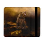 Roaring Grizzly Bear Samsung Galaxy Tab Pro 8.4  Flip Case Front