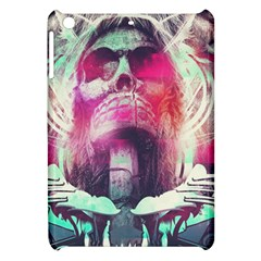 Skull Shape Light Paint Bright 61863 3840x2400 Apple Ipad Mini Hardshell Case by amphoto