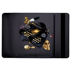 Typewriter Skull Witch Snake  Ipad Air 2 Flip by amphoto