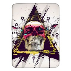 Skull Paint Butterfly Triangle  Samsung Galaxy Tab 3 (10 1 ) P5200 Hardshell Case