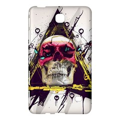 Skull Paint Butterfly Triangle  Samsung Galaxy Tab 4 (8 ) Hardshell Case  by amphoto
