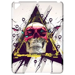 Skull Paint Butterfly Triangle  Apple Ipad Pro 9 7   Hardshell Case by amphoto