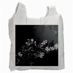 Shape Pattern Light Color Line  Recycle Bag (one Side) by amphoto