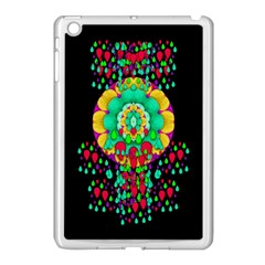 Rain Meets Sun In Soul And Mind Apple Ipad Mini Case (white) by pepitasart