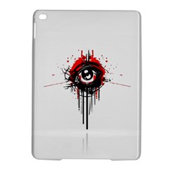 Red White Black Figure  Ipad Air 2 Hardshell Cases by amphoto